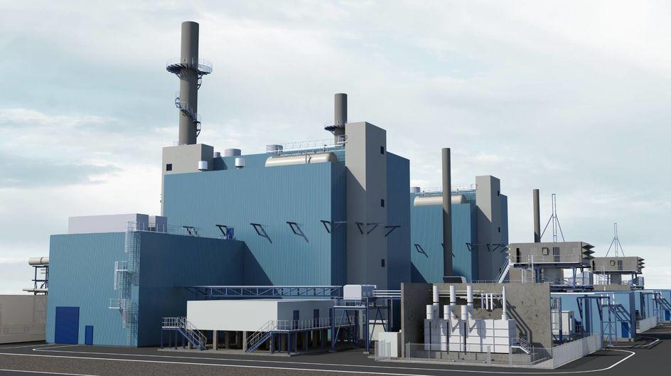 マール・ケミカルパークに新設する発電所のイメージ